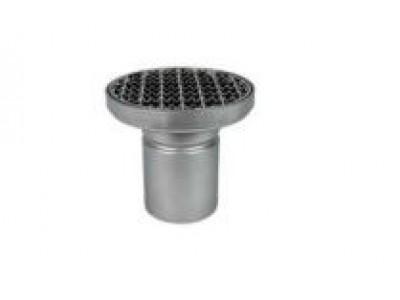 Трап круглый MSteel Mini D 200/1 ВГ110 круглый с герметичной крышкой