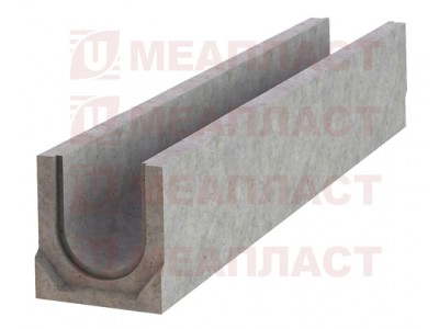 Лоток ЛБ BetonPlus C250 100.165.215 бетонный