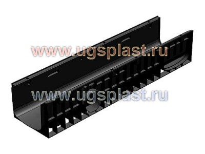 Лоток водоотводный Standart Plus ЛВ-20.24,6.18,5 пластиковый (усиленный) Арт.8204