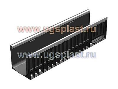 Лоток водоотводный Standart Plus ЛВ-15.19,6.10 пластиковый (усиленный) Арт.8154