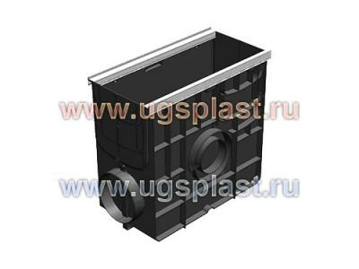 Пескоуловитель  Standart Plus ПУ-20.24,6.46 пластиковый универсальный для лотков пластиковых DN150 и DN200 (усиленный) Арт.8284