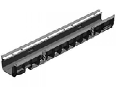 Лоток водоотводный Super ЛВ-10.14,5.10 пластиковый, кл. Е600 Арт.0803