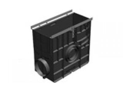 Пескоуловитель Super ПУ-15.25.47,8 пластиковый универсальный для лотков пластиковых DN150 кл. E600 Арт.0828