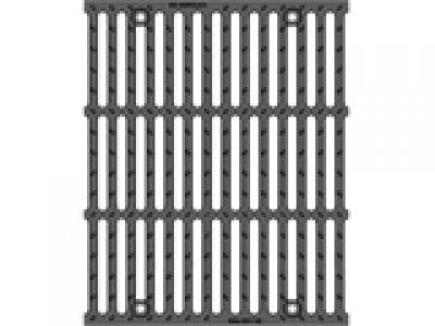 Решётка чугунная щелевая DN500, 500/623/35, 18/180, кл. F900 Арт. 22048