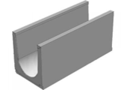 Универсальный водоотводной бетонный лоток BGU-XL DN300, №5-0, без уклона Арт.40730061