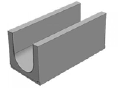 Универсальный водоотводной бетонны лоток BGU DN300, №0, без уклона  Арт.34014