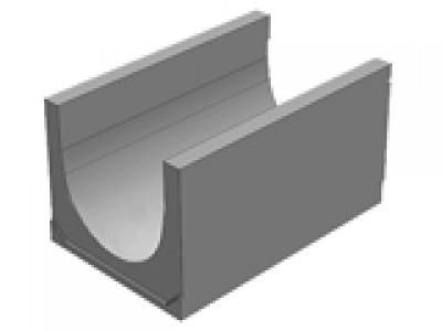 Универсальный водоотводной бетонный лоток BGU-XL DN400, №15-0, без уклона Арт.40740063