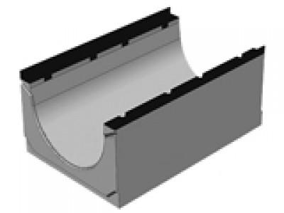 Массивный бетонный лоток BGM DN500, №15-0, без уклона , водоотводной Арт.407501063