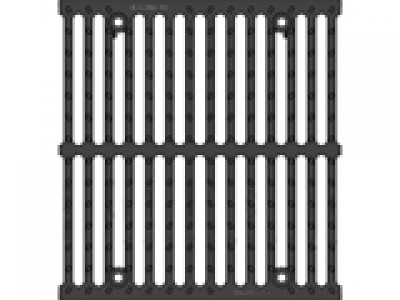 Решётка чугунная щелевая DN500, 500/623/35, MW 28/15, кл. E600 Арт.22047