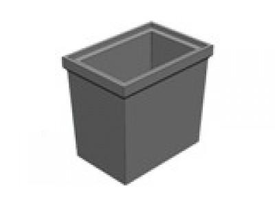 BGU Промежуточная часть 560/390/520 универсальная для пескоуловителя DN200 Арт.49001000