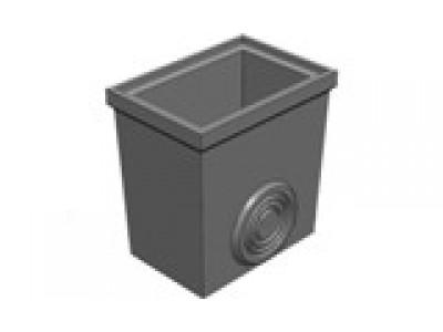BGU Нижняя часть 560/390/570 универсальная для пескоуловителя DN200 Арт.49001001