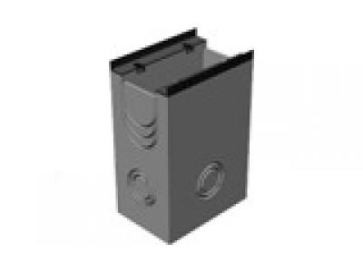 BGM пескоуловитель для тяжелых нагрузок DN200, 500/340/750, односекционный, с чугунной насадкой Арт.49020150