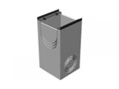 BGM пескоуловитель для тяжелых нагрузок DN500, 500/640/1000, односекционный, с чугунной насадкой Арт.49050150