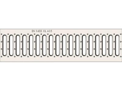 Решётка водоприёмная Standart РВ-10.13,6.50 штампованная стальная оцинкованная, кл. А15 Арт.500