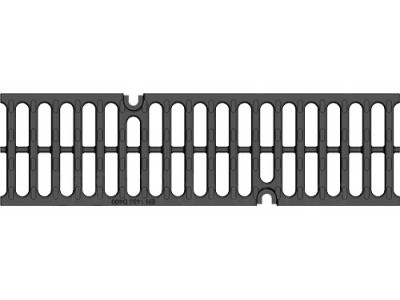 Решётка водоприёмная Super РВ-10.14.50 щелевая чугунная ВЧ, кл. D400 Арт.50109D