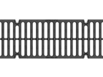 Решётка водоприёмная Super РВ-15.19.50 щелевая чугунная ВЧ, кл. D400 Арт.50159D