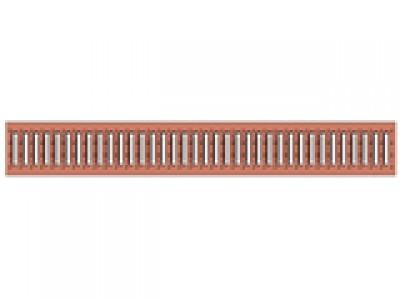 Решётка водоприёмная Standart РВ-10.13,6.100 штампованная медная, кл. А15 Арт.502