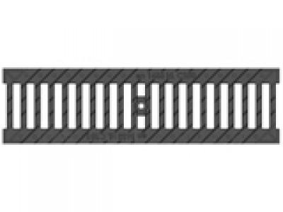 Решётка водоприёмная Standart РВ-10.13,6.50 щелевая чугунная ВЧ, кл. C250 Арт.506