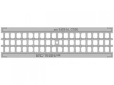 Решётка водоприёмная Standart РВ-10.13,6.50 ячеистая чугунная ВЧ оцинкованная, кл. C250 Арт.5075