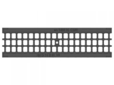 Решётка водоприёмная Standart РВ-10.13,6.50 ячеистая пластиковая, кл. А15 Арт.504