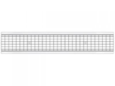 Решетка стальная ячеистая DN150 оцинкованная кл.В125, арт.31531В