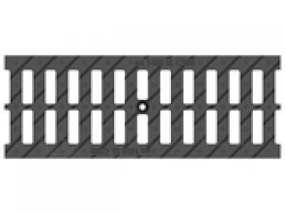 Решётка водоприёмная Standart РВ-15.18,6.50 щелевая чугунная ВЧ, кл. С250 Арт.516