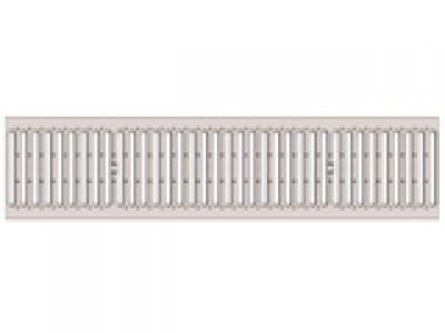 Решётка водоприёмная Standart РВ-15.24.100 - штампованная стальная нержавеющая, кл. А15 Арт.523
