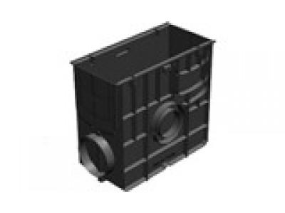 Пескоуловитель Standart ПУ-20.24,6.46 пластиковый универсальный для лотков пластиковых DN150 и DN200 Арт. 828
