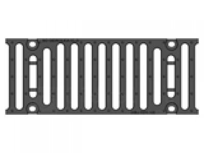Решетка щелевая чугунная DN150, 500/197/25, SW18/170, кл. F900 кН Арт.RU22005