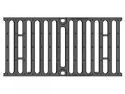 Решётка чугунная для тяжёлых нагрузок DN200, 500/247/25, 16/220, кл. F900 Арт.RU22008