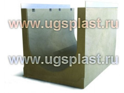Лоток бетонный ЛВБ Optima 500 №2