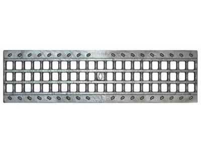 Решетка чугунная ячеистая DN100 оцинкованная кл.С250, арт.31023оц