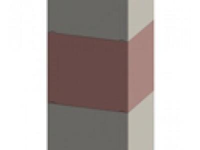Дождепремный колодец ДК SIR 500/2 бетонный F900 (середина)