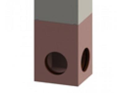Дождепремный колодец ДК SIR 500/3 бетонный F900 (низ)