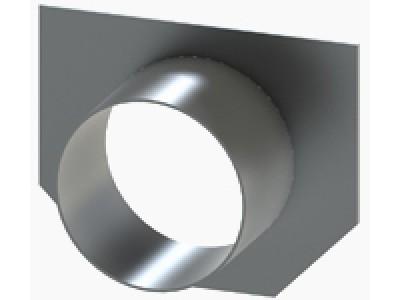 Заглушка ЗЛВ-10.16.23-Б-ОС с водоотводом 6101-609Б-D