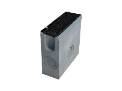 Пескоуловитель BetoMax ПУ–11.19.49-Б бетонный с решёткой ячеистой чугунной ВЧ кл.D (комплект), арт. 041844