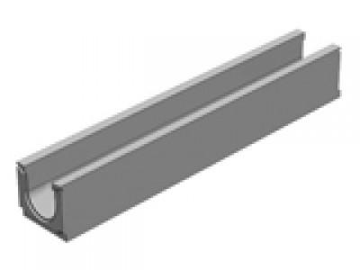 Универсальный водоотводной бетонный лоток BGU DN100, №0, без уклона  Арт.13000