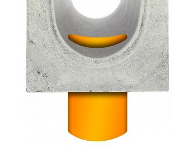 Изготовление вертикального выпуска DN 400 с устройством муфты
