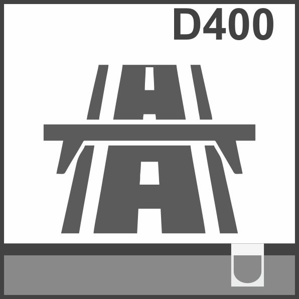 Пластиковые водоотводные лотки класс D400