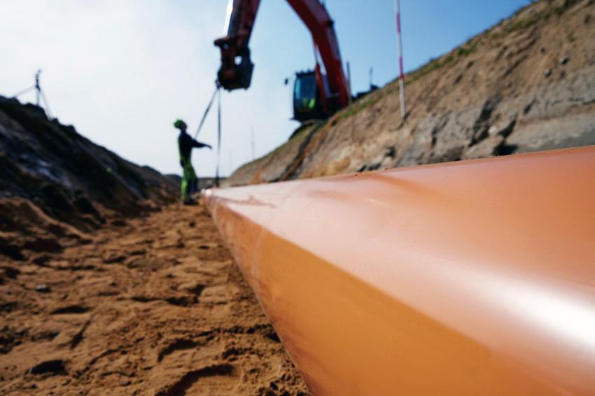 Труба ПВХ 200 мм для наружной канализации