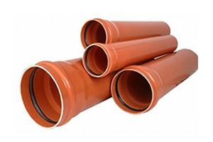 Трубы наружной канализации и дренажные системы