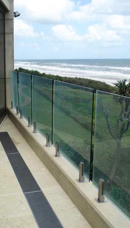 Пример отвод на балконе