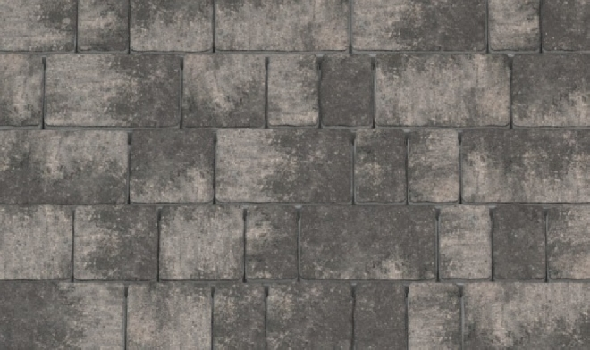 Тротуарная плитка Черно-белая