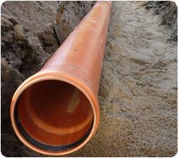 Труба ПВХ 500 мм для наружной канализации